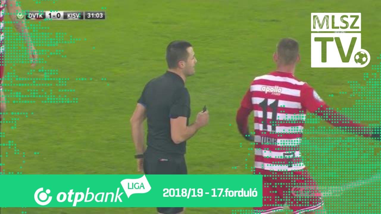 Jefferson Gomes De gólja a DVTK – Kisvárda Master Good mérkőzésen
