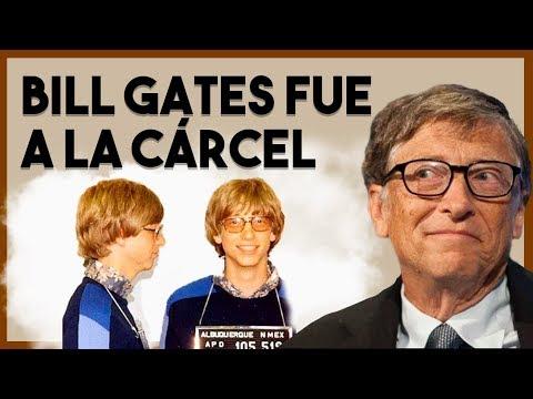 🚔 ¿Por qué fue encarcelado de joven? | Biografía Bill Gates