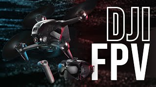 DJI FPV Drone and Motion Controller | First Look