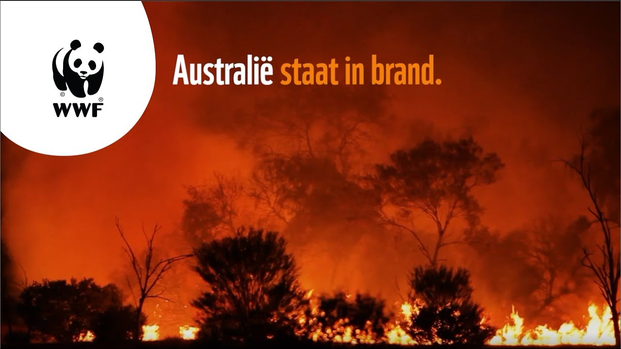 WWF: Australië staat in brand