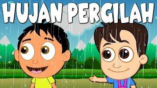 Lagu Kanak Kanak Melayu Malaysia - HUJAN PERGILAH - RAIN RAIN GO AWAY IN MALAY