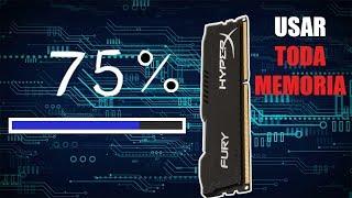 Como retirar o Utilizável da memoria RAM(Resolvido) - 2019