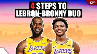 4 Steps For LeBron To Be TEAMMATES With Bronny | Clutch #Shorts