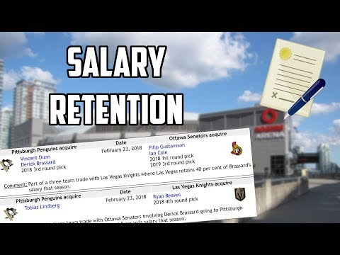 Everything You Need To Know About Salary Retention In The NHL