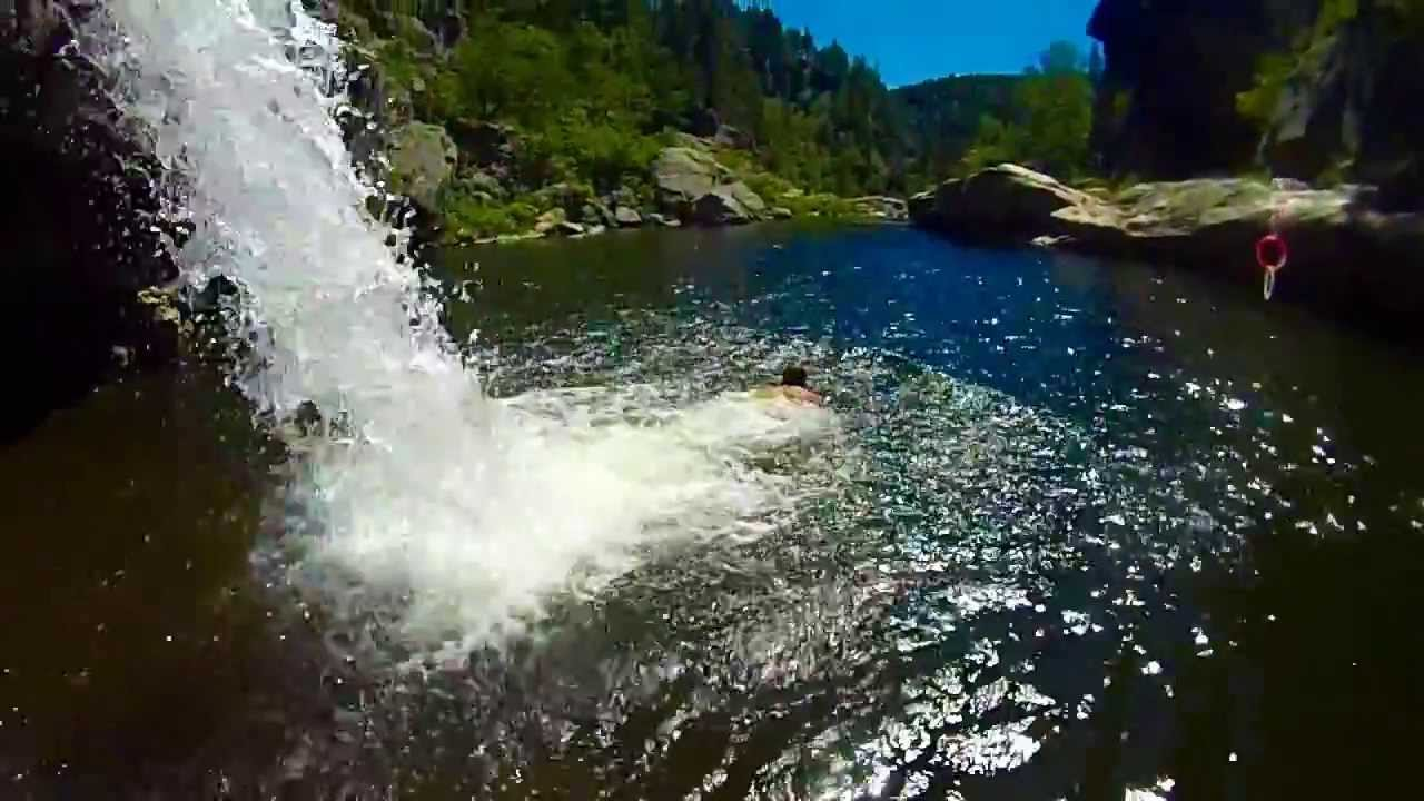 how to get to the hippy hole in the okanagan