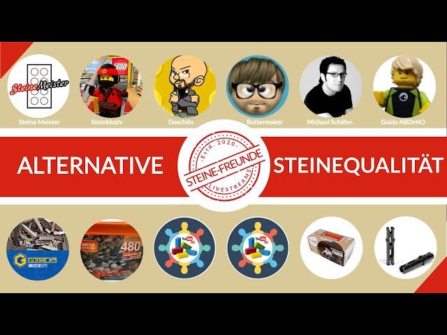 Alternative Steinequalität und weitere Themen zu Alternativen in unserem dritten Livestream