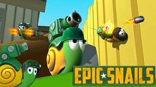 🐌 Epic Snails | Die fiese Gartenschnecke | Deutsch Gameplay German Let's Play Deutsch thumbnail