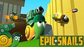 🐌 Epic Snails | Die fiese Gartenschnecke | Deutsch Gameplay German Let's Play Deutsch thumbnail