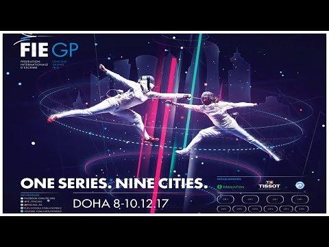 Men & Women Epee Grand Prix Doha 2017 Finals