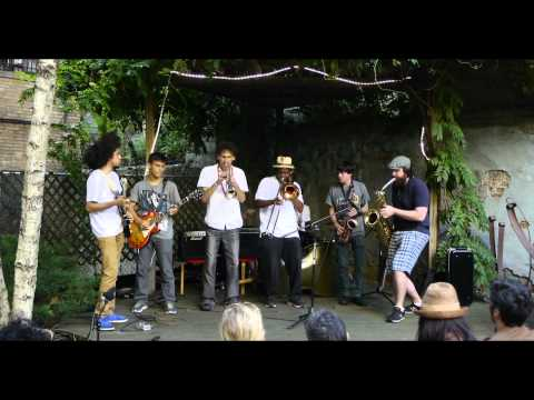 New York City Brass Brothers At La Perla Garden 9 -7- 14 Part 1 Mix