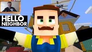 269: Обманул Соседа в игре ПРИВЕТ СОСЕД альфа 3 в Minecraft и прокрался на расследования