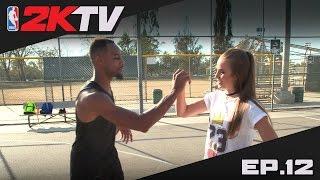 NBA 2KTV S2. Ep. 12 - BdotAdot Impersonates Wildest MyPARK Moves