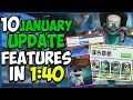 10 January Update Features in 1:40! - Clash Royale
