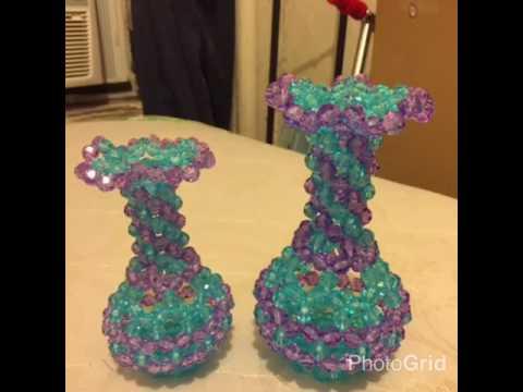 Beads Flower Vases Youtube