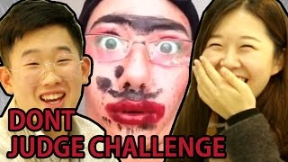 Koreans react to don't judge me challenge