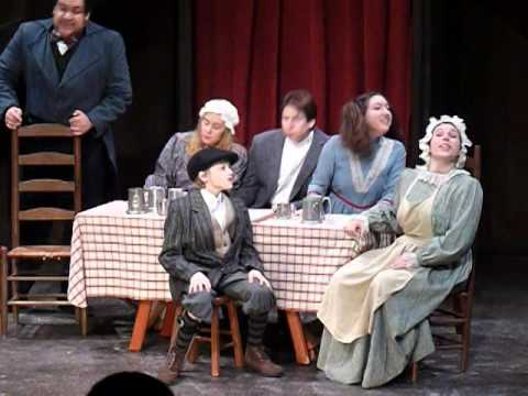 TinyTim Highlights of A Christmas Carol at Hedgerow Theatre
