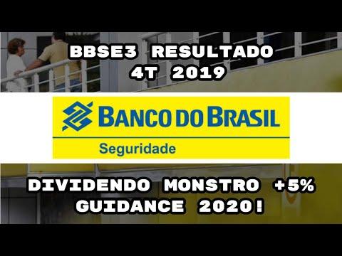 BB SEGURIDADE(BBSE3) RESULTADO 4 TRIMESTRE 2019 ALTA 35% LUCRO   DIVIDENDO MONSTRO + GUIDANCE 2020