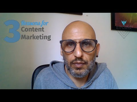 3 Reasons for Content Marketing