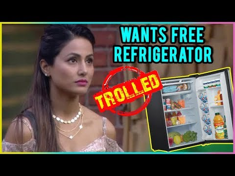 Hina Khan Asks For FREE REFRIGERATOR On Mother's Day | Fans TROLL thumbnail