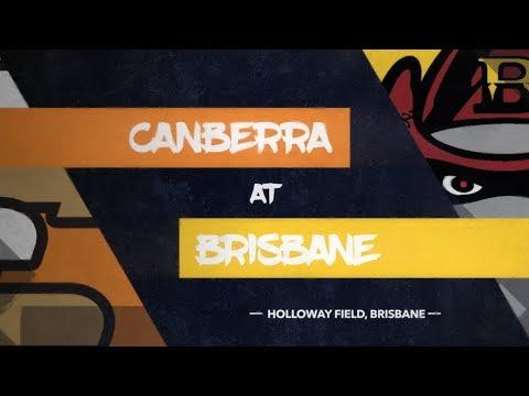 REPLAY: Canberra Cavalry @ Brisbane Bandits, R1/G2