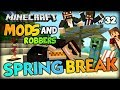 Tropical Trolls With COCONUT BOMBS - Minecraft Modded Cops And Robbers (Tropicraft Mod)