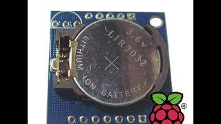 подключение и настройка часов rtc ds1307 к raspberry pi
