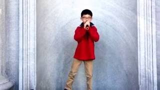 Justin Bieber - Santa Claus Is Coming To Town Cover by Preston