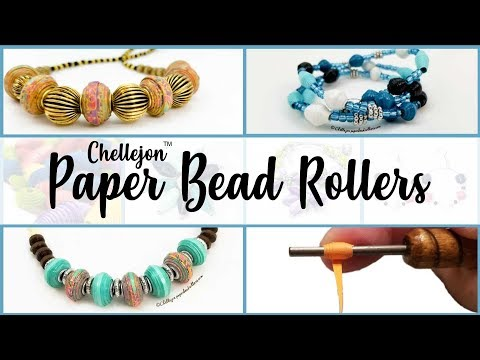 Live Paper Bead Jewelry Making!