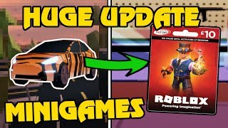 ROBLOX JAILBREAK SEASON 2 UPDATE!! | FREE ROBUX Giveaway | Simon Says, Hide + Seek, BR | Roblox Live