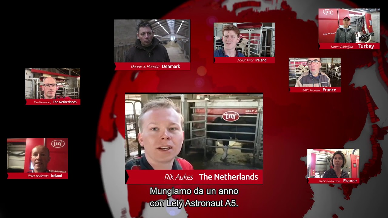 Lely Astronaut A5 – Le esperienze dei nostri allevatori – video 6 (IT)