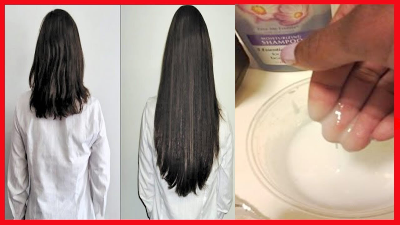 Máscara de cabelo depois de sal