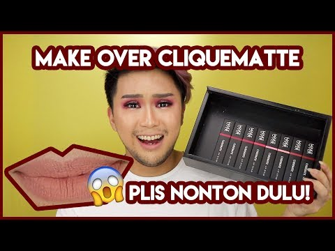 make-over-clique-matte-lipstick-full-swatch-and-review-bahasa-indonesia-|-didadi