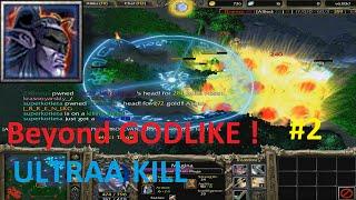 DotA 6.83d - Magina Beyond GODLIKE ! #2 ( ULTRAA KILL)