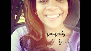 Getting Prom Ready: Makeup & My dress! Thumbnail
