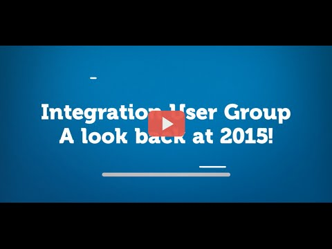 Integration User Group - A look back at 2015