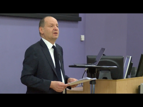 2017 Holocaust Memorial Lecture With Professor Philippe Sands