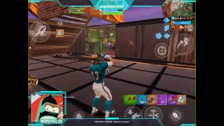 Fornite Battle Royal Ipad Pro 10.5 Mobile 6 finger Claw Live stream