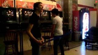 Lukas spanking Jon.......?
