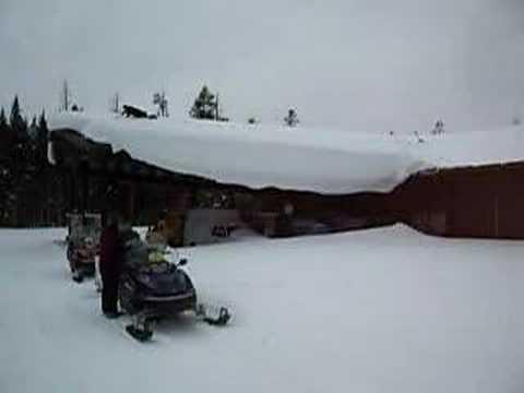 Winter keeping in Yellowstone