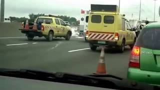 Accident in North Luzon Expressway - July 11, 2011