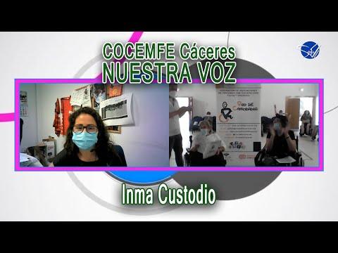 COCEMFE Nuestra Voz - Inma Custodio
