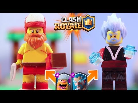 10 LEGENDARY Cards Re-create with LEGO Clash Royale DiY Spectacular Creations