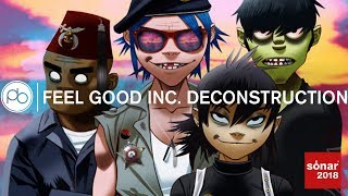 Gorillaz - Feel Good Inc. Track Deconstruction at Sonar +D