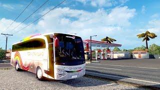[ETS2] Putra Pelangi JetBus 2 HD Ngeblooong terus di jalur Sumatra!