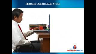 Los 10 errores que hay que evadir a la hora de enviar el Curriculum Vitae