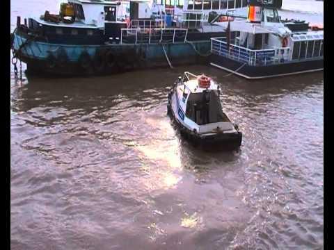 CPBS Marine Services workboat 'Hound Dog'