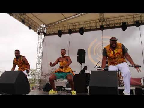 Afro Soul   Inkomo ft Khuzani  Live Video at INK HOP FESTIVAL