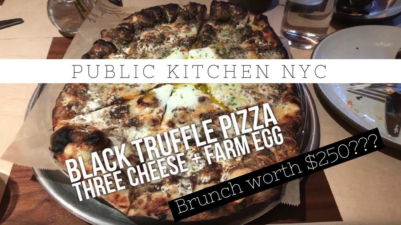 Black Truffle Farm Egg Pizza