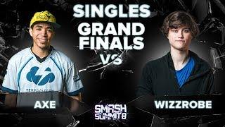 Axe vs Wizzrobe - GRAND FINALS: Melee Singles - Smash Summit 8 | Pikachu vs Captain Falcon
