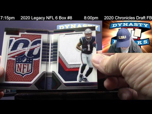 2019 Playbook Football Card 8 Box Case Break #22   Sports Cards